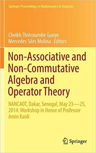 Nrn Associative and Nrn Commutative Algebra and Operator Theory