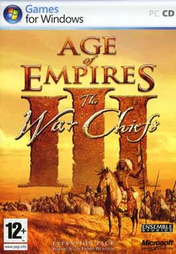 Age of Empires 3: The WarChiefs Deutsche  Texte, Stimmen / Sprachausgabe Cover