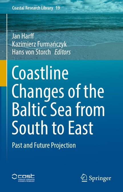 Coastline Changes of the Baltic Sea from South to East Past and Future Projection