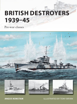 British Destroyers 1939 45 Pre war classes