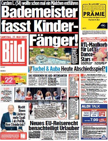 Bild-Zeitung vom 27.05.2017