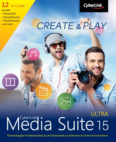 CyberLink Media Suite Ultra 15.0.0512.0 Multilanguage