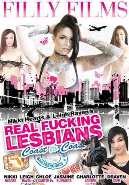 Real Fucking Lesbians Coast To Coast Cover