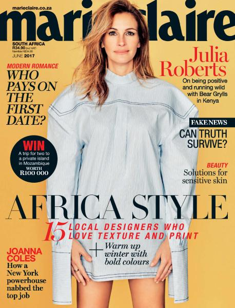 Marie Claire South Africa June 2017