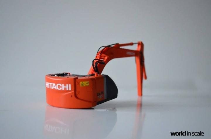 Hitachi ZAXIS 135US - 1/35 by Hasegawa Gxawskux