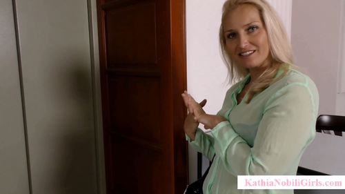 Kathianobiligirls - Kathia Nobili - Blow Job In Elevator By Stranger Goddess!!!