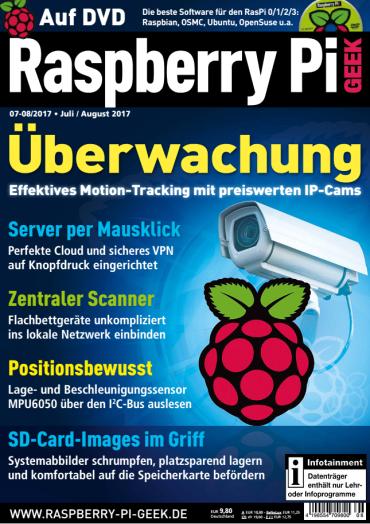 Raspberry Pi Geek Magazin Juli August No 07 08 2017