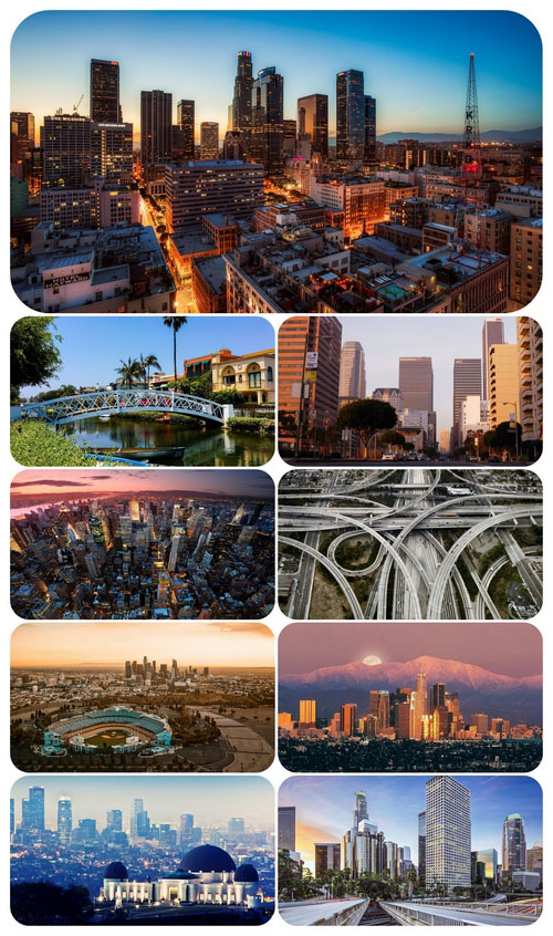 Wallpaper pack Los Angeles Usa