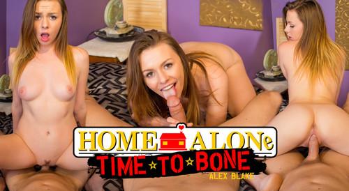 WankzVR - Home Alone, Time to Bone - Alex Blake (Oculus)