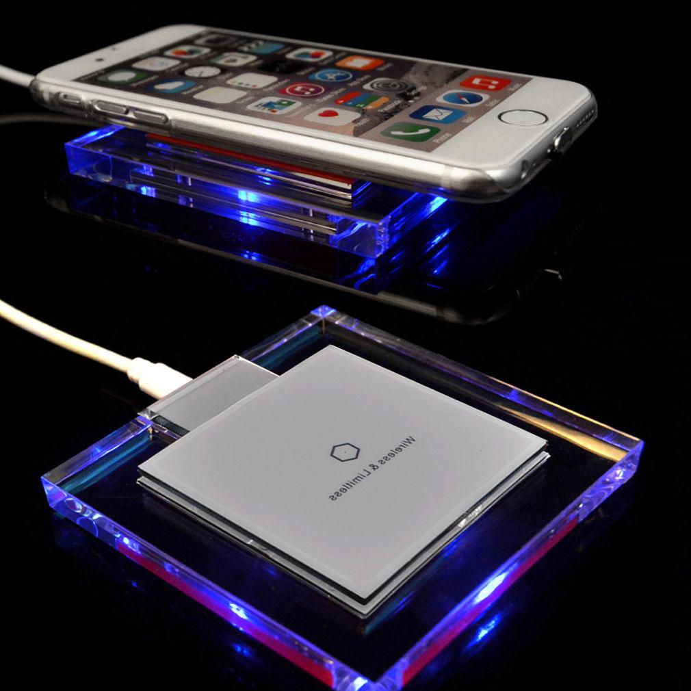 induktive ladestation ladeger t qi kabellos apple iphone 5 5s 5c se 6 6s 6s plus. Black Bedroom Furniture Sets. Home Design Ideas