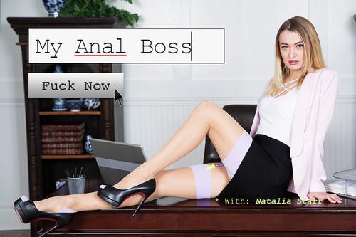 BaDoinkVR - My Anal Boss - Natalia Starr (Oculus)