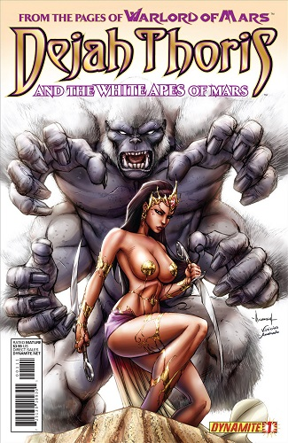 Lui Antonio, Mark Rahner - Dejah Thoris And The White Apes Of Mars 01 (French)