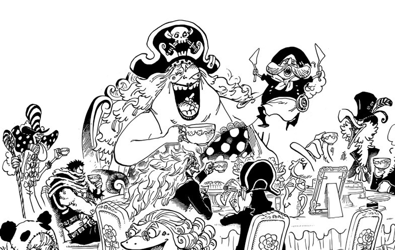 But Think Of Big Mom And Streusen As Queen And King Of Hearts From The Disney Version Of Alice In Wonderland Remember The Little Ass King Whos Like