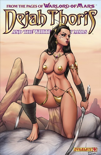 Lui Antonio, Mark Rahner - Dejah Thoris And The White Apes Of Mars 2-4 (English)