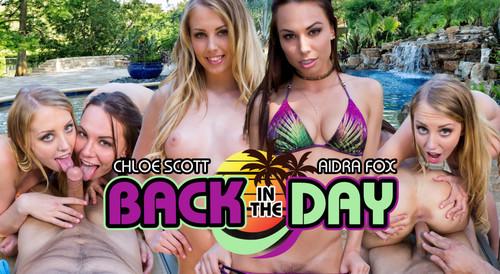 WankzVR - Back in the Day - Chloe Scott & Aidra Fox (Oculus)