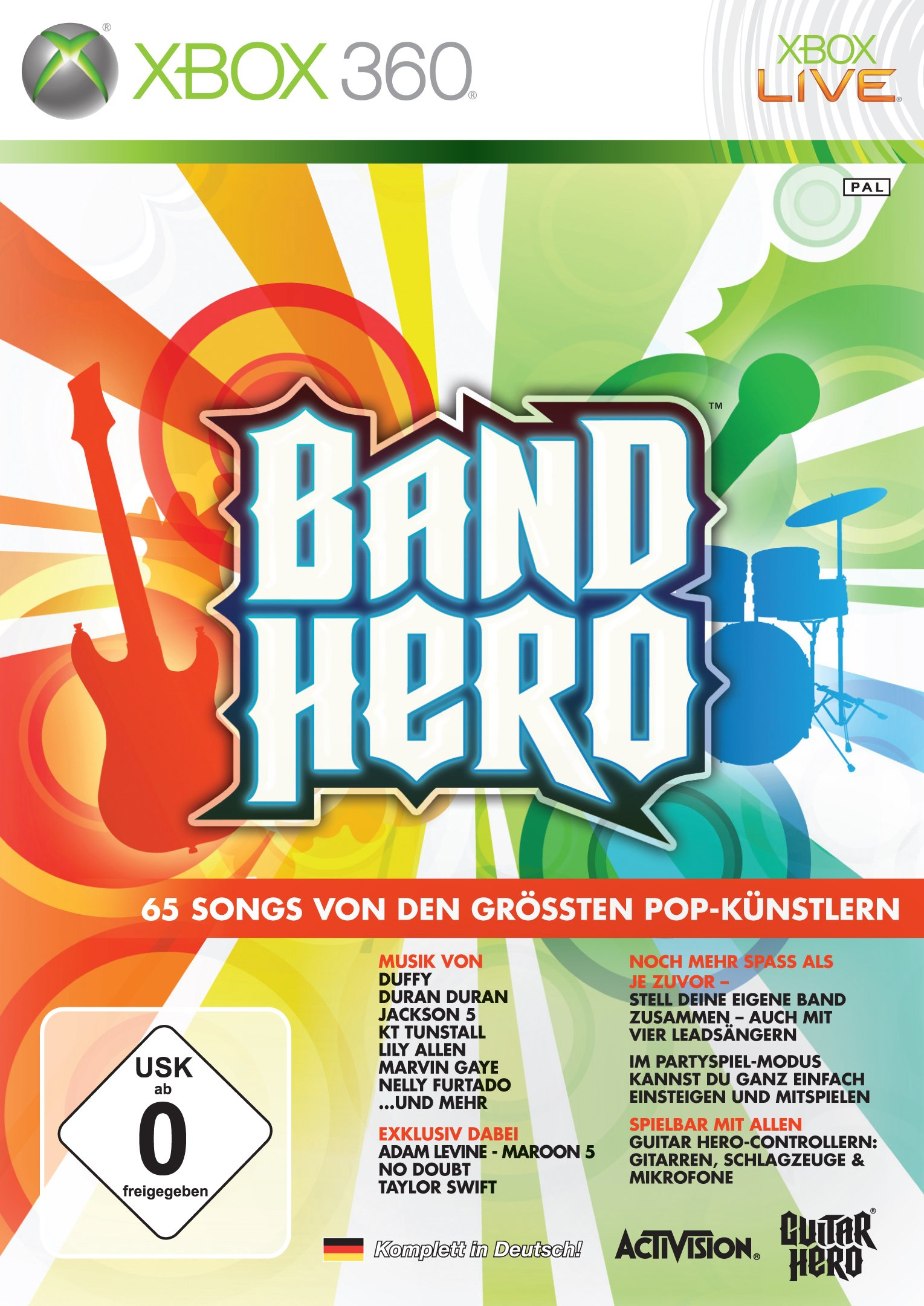 Band Hero Xbox360-Marvel
