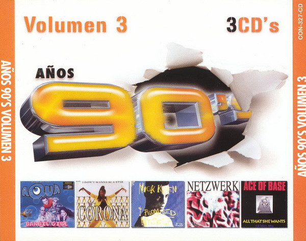 Años 90's - El Mejor Album De Los 90's Vol. 3-2006