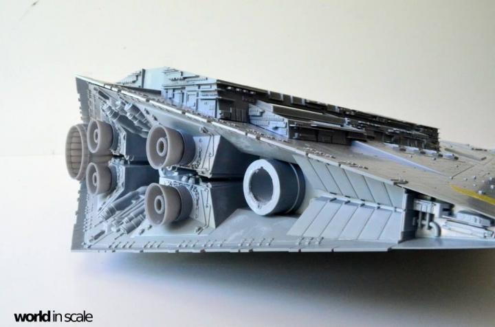 """Star Destroyer """"Imperium I-Class"""" - 1/2700 by Revell/Zvezda + Illumination 5ev59bv4"""