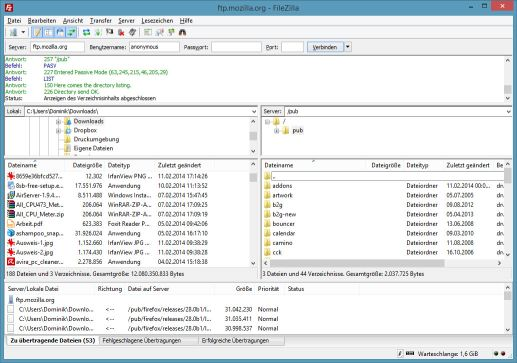 FileZilla 3.26.2 + Portable