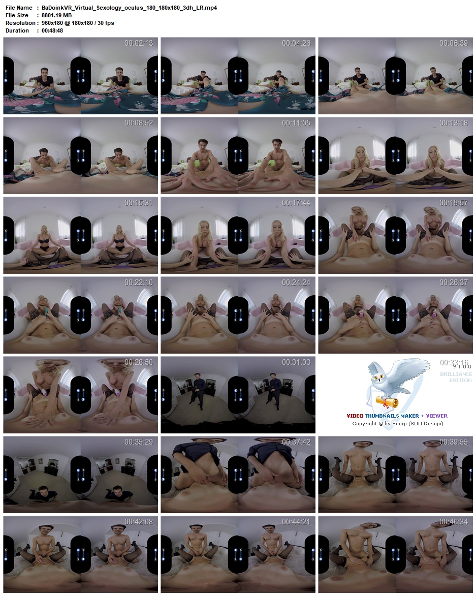 BaDoinkVR - Virtual Sexology II: Female POV - Katie Morgan (Oculus)