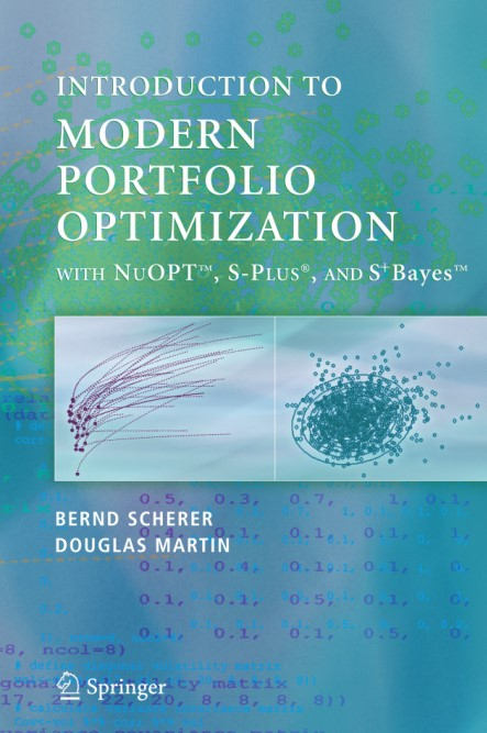 : Introduction to Modern Portfolio optimization with Nuopt and S Plus