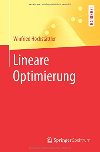 : Lineare Optimierung