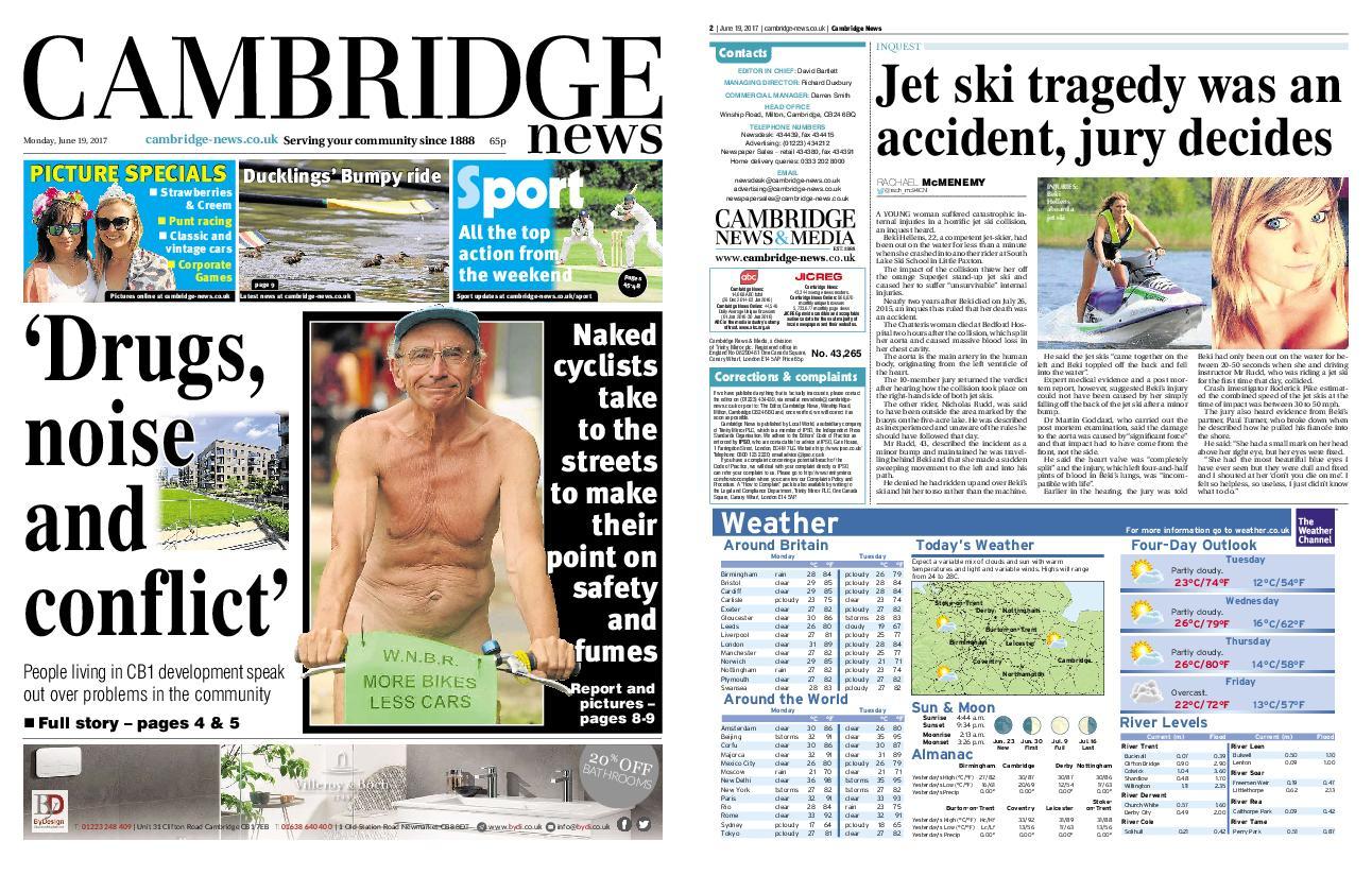 : Cambridge News June 19 2017