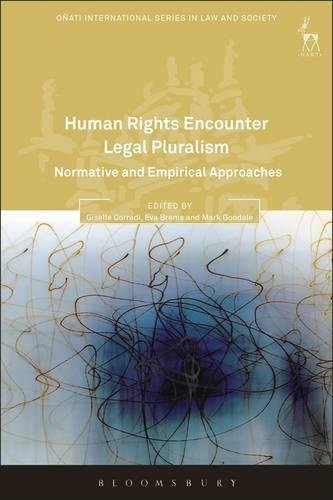 : Human Rights Encounter Legal Pluralism Nrrmative and Empirical Approaches