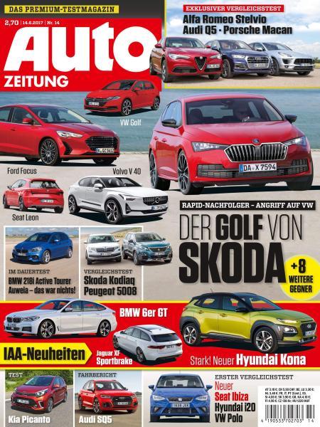 : Auto Zeitung 14 Juni 2017