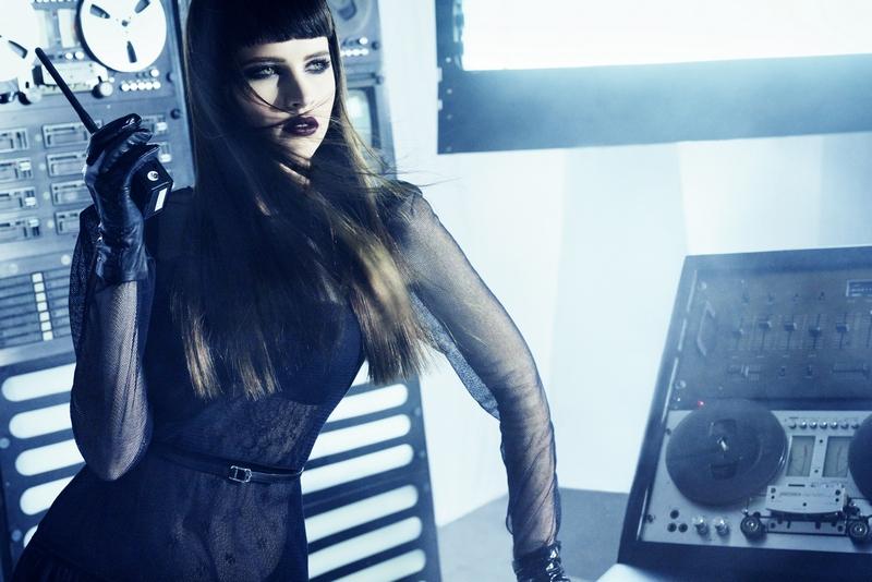 Felicity Jones by Mark Abrahams for Gq November 2014