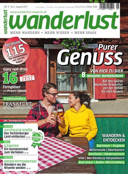 : Wanderlust Germany Juli August 2017