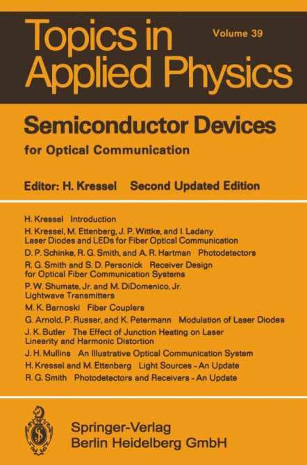: Semiconductor Devices for Optical Communication