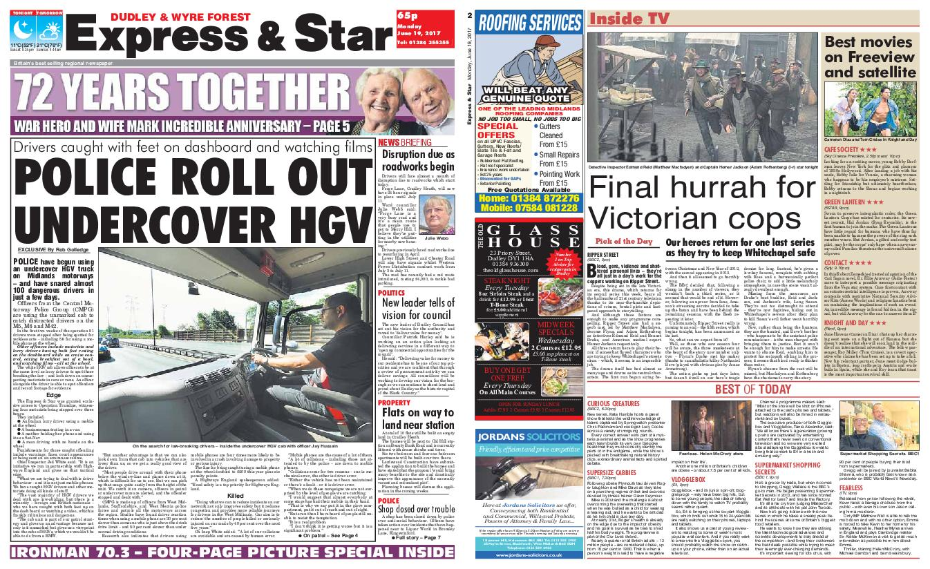 : Express and Star Dudley and Wyre Forest Edition June 19 2017