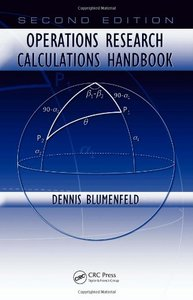 : Operations Research Calculations Handbook Second Edition