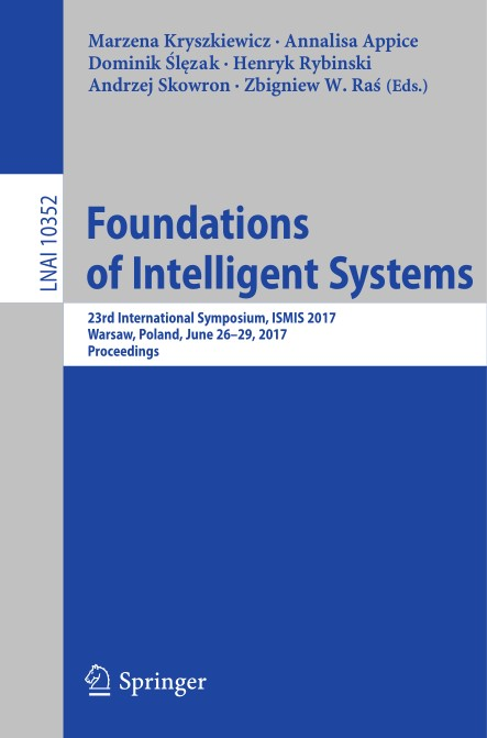 : Foundations of Intelligent Systems