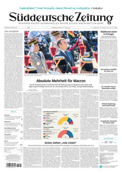: Sueddeutsche Zeitung 19 Juni 2017
