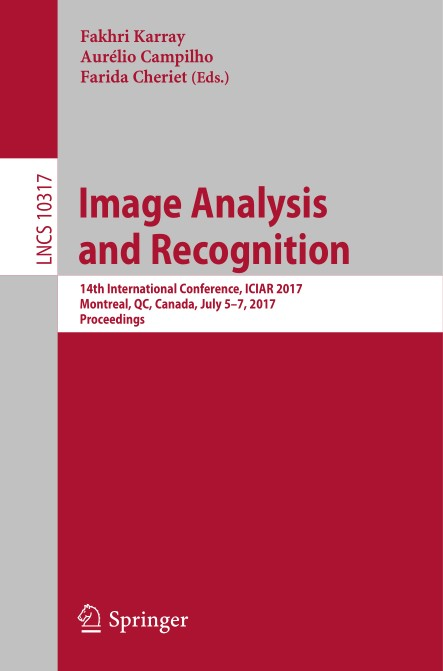 : Image Analysis and Recognition
