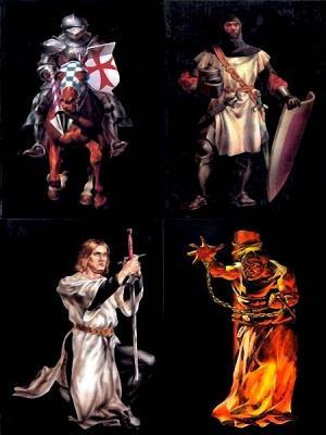 Серия книг - Тамплиеры (6 томов) (1996-1998)