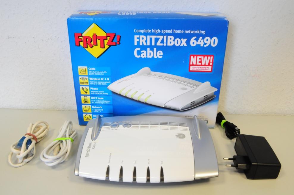 Fritzbox Unitymedia 6490