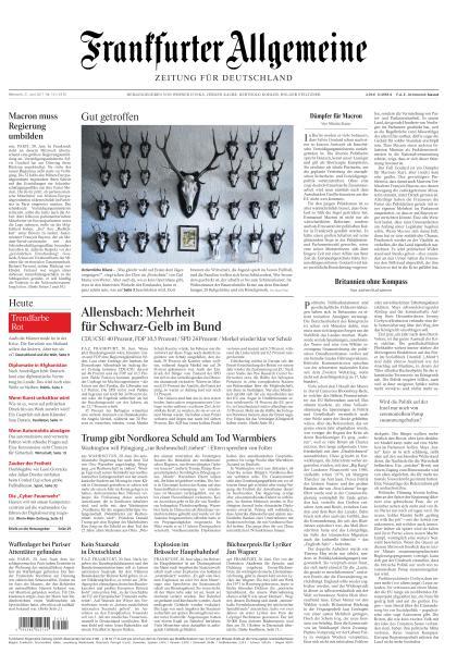 Frankfurter Allgemeine Zeitung 21 Juni 2017