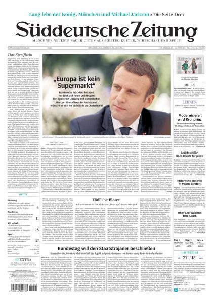 Sueddeutsche Zeitung 22 Juni 2017