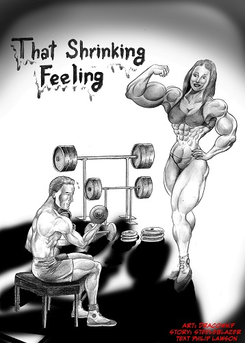 MightyFemaleMuscleComix - That Shrinking Feeling