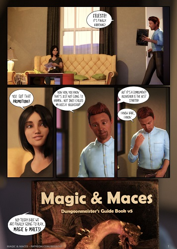 Begrove - Magic and Maces