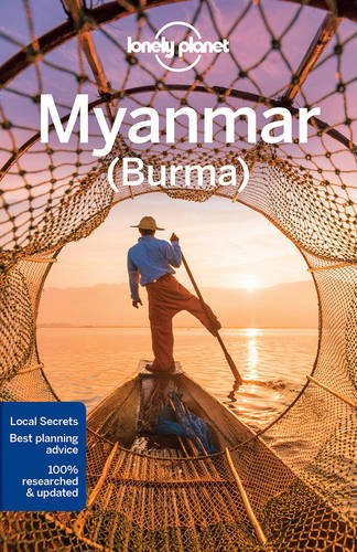 Lonely Planet Myanmar Burma Travel Guide