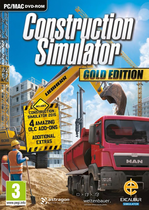 Construction Simulator Gold Edition Liebherr A 918-TiNyiSo