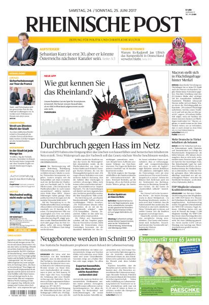 Rheinische Post 24 Juni 2017