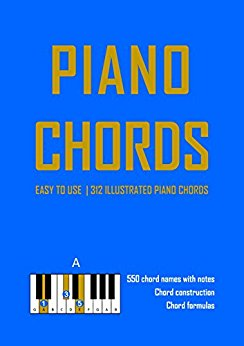 Piano Chord Book 312 illustrated piano chords with fingerings