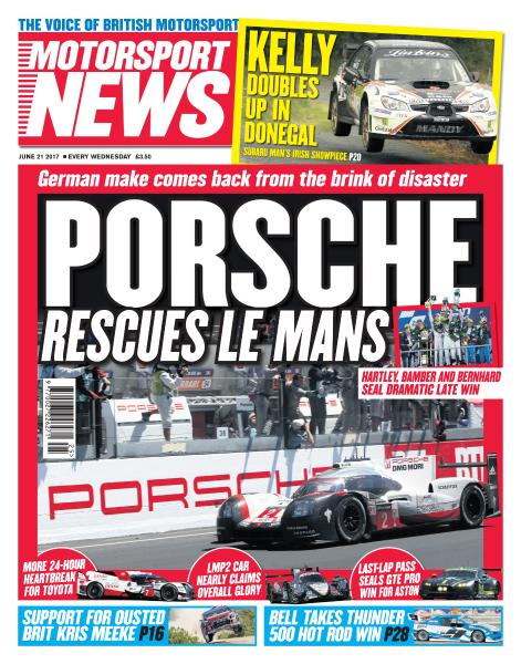 Motorsport News June 21 2017