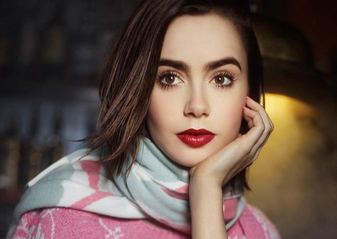Lily Collins Adam Franzino Photoshoot 2017