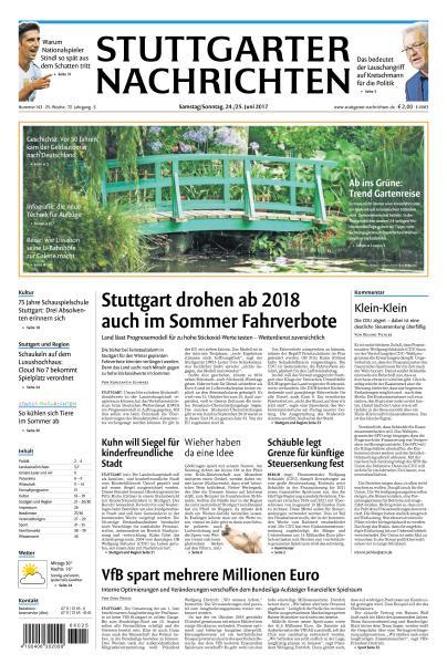 Stuttgarter Nachrichten 24 Juni 2017